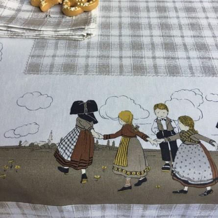 Ecole Buissonnière Tablecloth