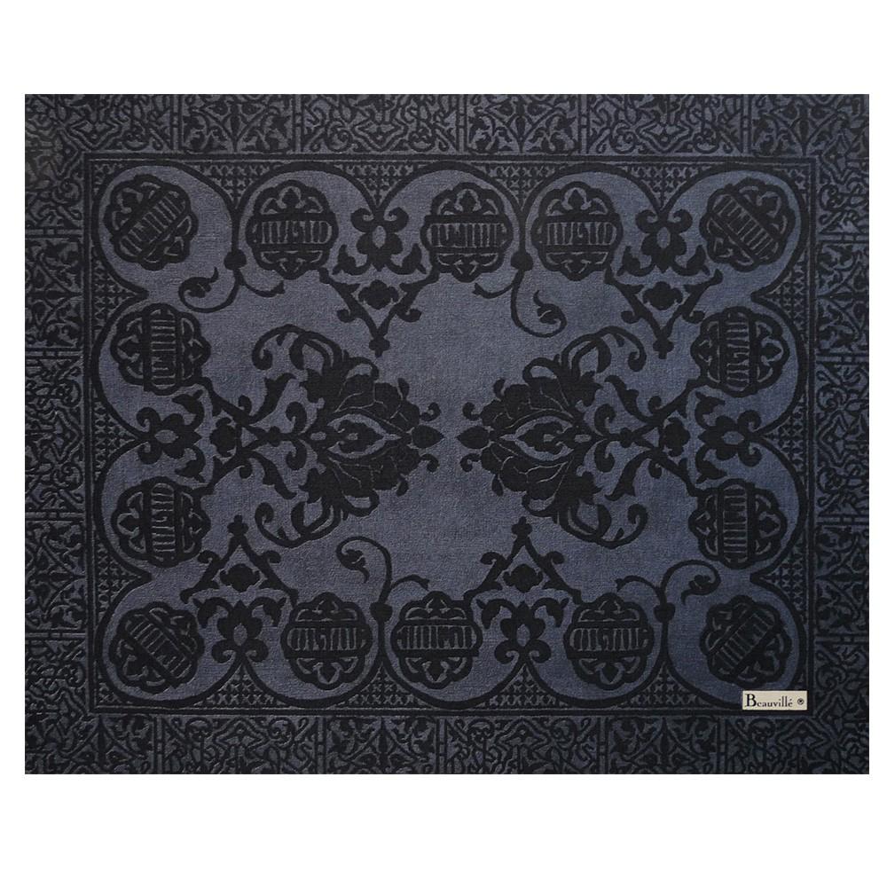 set de table gris set de table grand soir beauvill. Black Bedroom Furniture Sets. Home Design Ideas