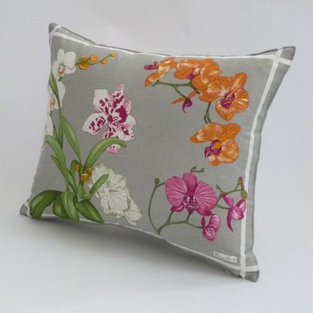 Coussin Orchidées