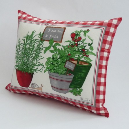 Coussin Potager
