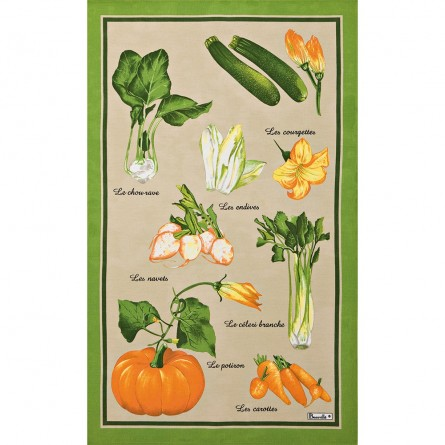 Marché Tea-Towel