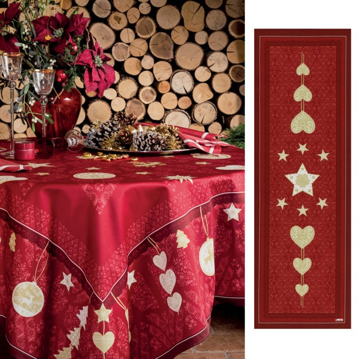 Chemin de table Christmas