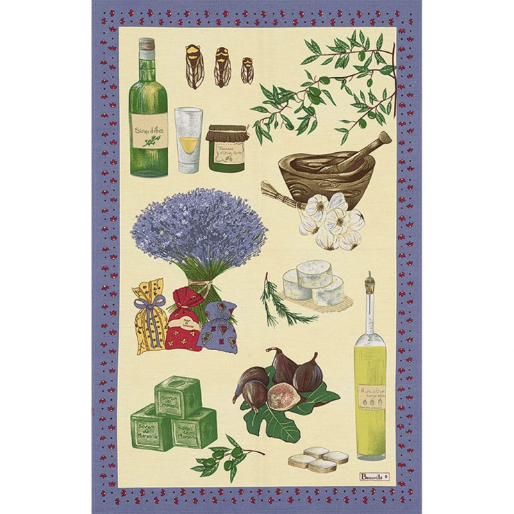 Original Saint-Paul Tea-Towel