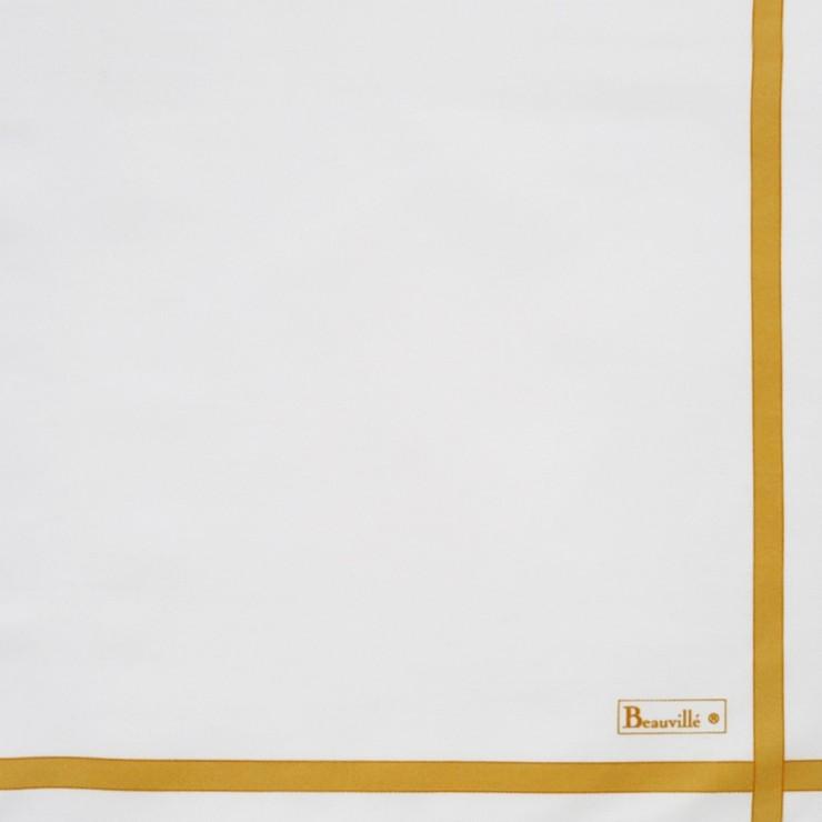 Two-coloured Napkin - White/Yellow