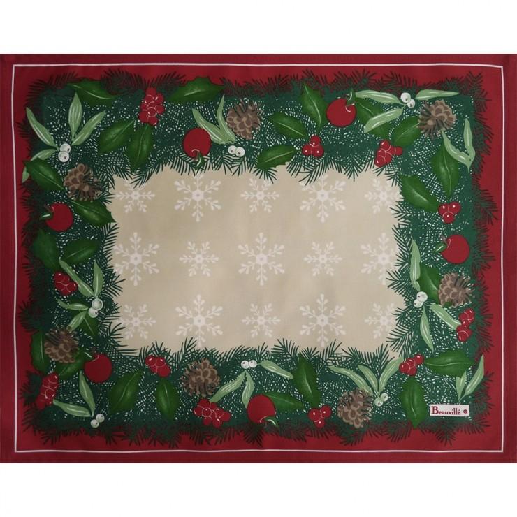 Set de table Christmas