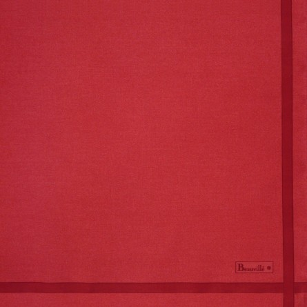 Two-coloured Napkin - Red/Carmine