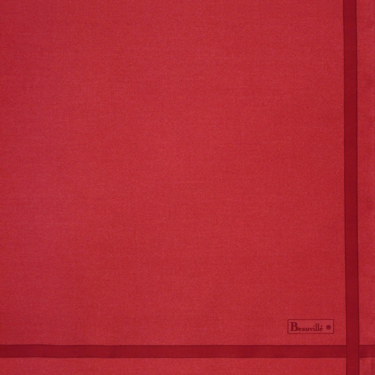 Serviette Bicolore - Rouge/Carmin