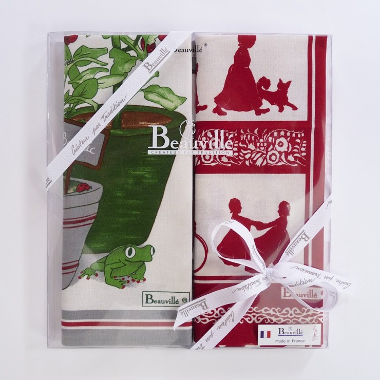 Tea-towel gift box Aromatic