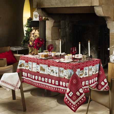 A la neige Tablecloth