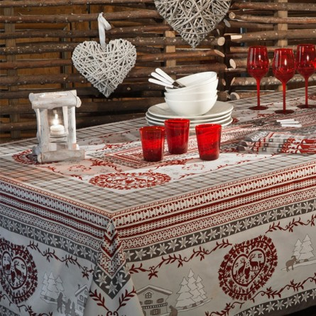 Cortina Tablecloth Grey