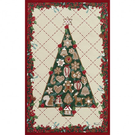 Sapin Gourmand Tea-Towel