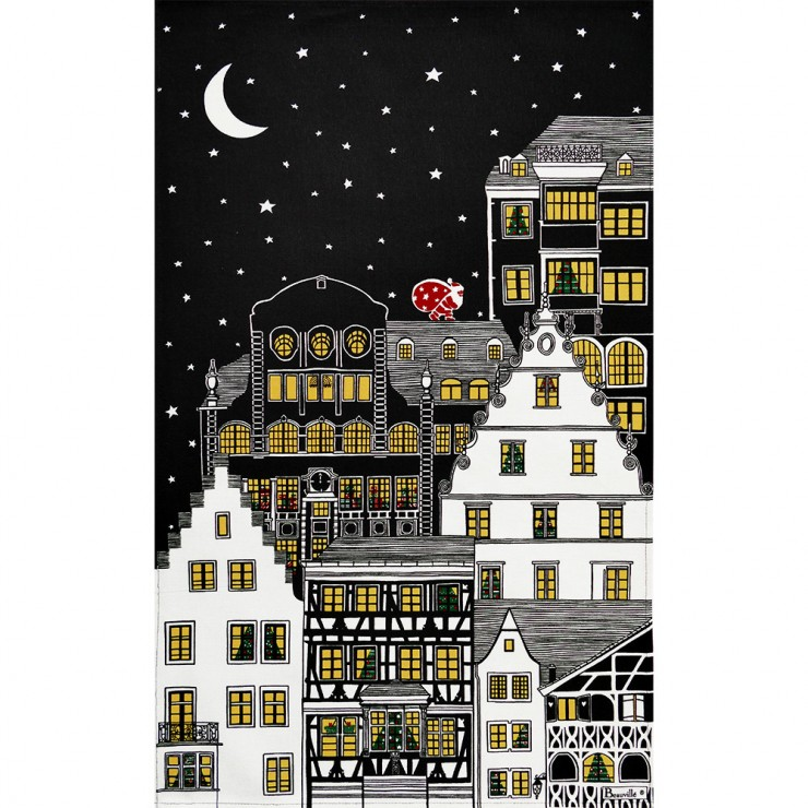 Douce nuit Tea-Towel