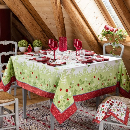 Fruits d'été Tablecloth