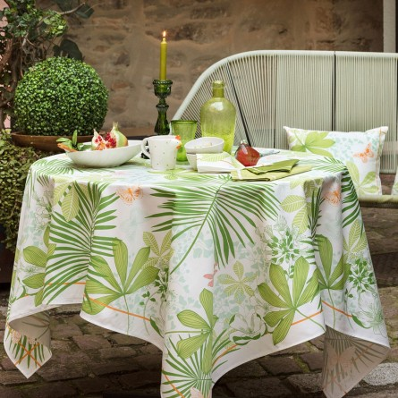 Grande Palmes Tablecloth