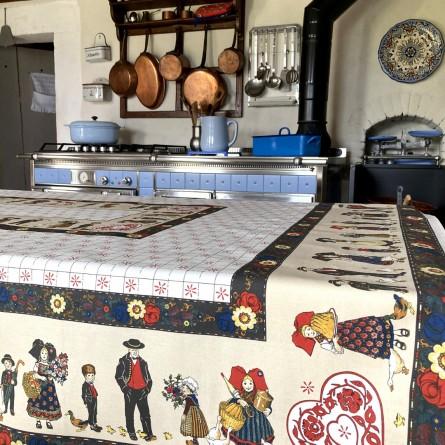 Mon Village Tablecloth