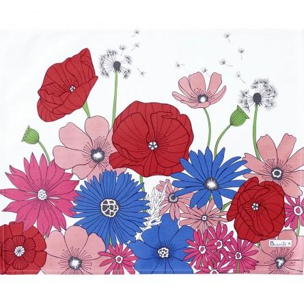 Fleurs des champs Coated Placemat