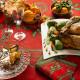 Winter Tischdecke