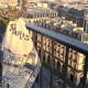 Les toits de Paris Tea-Towel