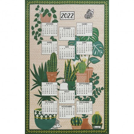 Calendrier Pampa 2022 Tea-Towel