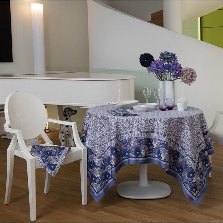Giverny Lavender Tablecloth