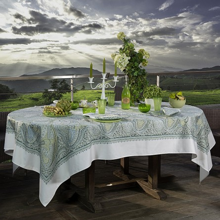Ceylan Tablecloth Lime Tree