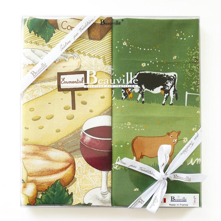 Tea-towel gift box Terroir
