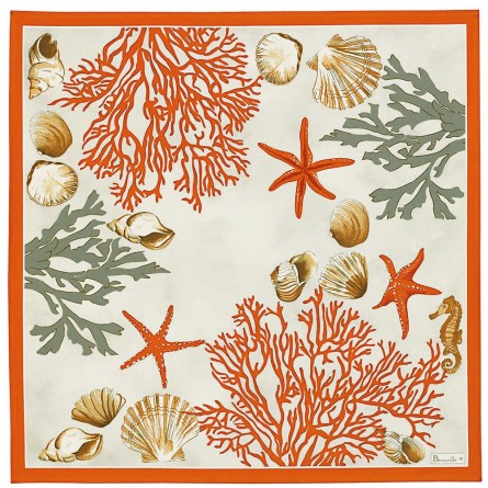 Serviette Corail Rouge