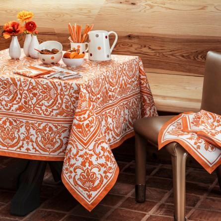 Saint Tropez Coated Tablecloth Azur