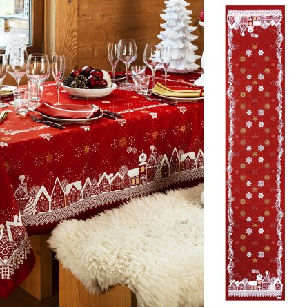 Chemin de table Christmas