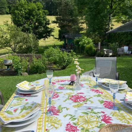 Jardins Tablecloth Yellow