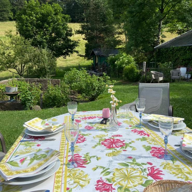 Jardins Tischdecke