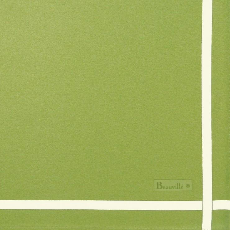 Zweifarbige Serviette - Grün/Anis