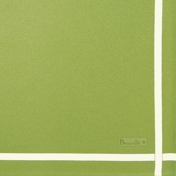 Two-coloured napkin - Green/Anis