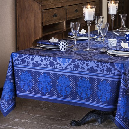 Toscane Tablecloth Blue
