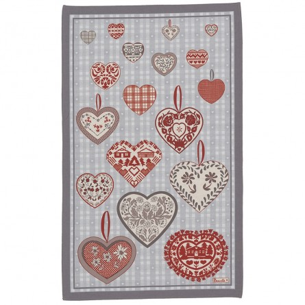 Montana Tea-Towel - Grey
