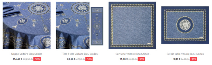 nappe luxe pas cher