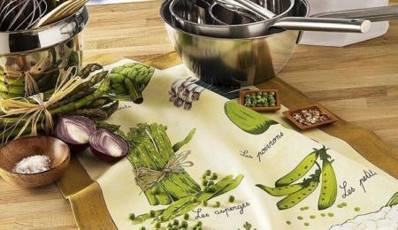 Torchon légume verts Beauvillé